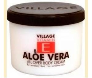 Village Aloe Vera - crema de corp cu aloe vera si vitamina E