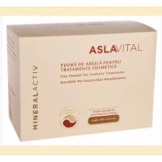 Aslavital - pudra de argila pentru tratamente cosmetice