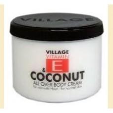 Village Coconut - crema pentru corp cu cocos si vitamina E
