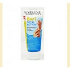 Eveline 8 in 1 Total action - crema pentru maini si unghii