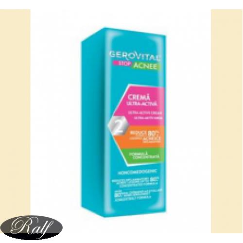 Gerovital Stop Acnee - crema ultra activa