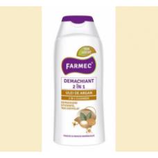 Farmec - demachiant 2 in 1 cu ulei de argan