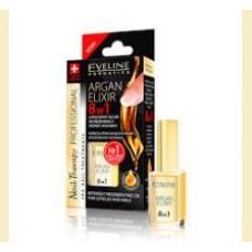 Eveline- Argan Elixir 8 in 1-tratament unghii cu ulei de argan