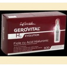 Gerovital H 3 Evolution  - Fiole cu Acid Hialuronic