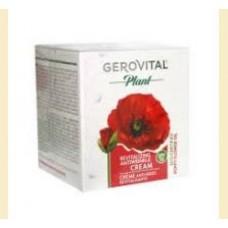 Gerovital Plant - crema antirid revitalizanta - flori de mac