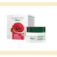 Gerovital Plant - crema  nutritiva multivitamine - flori de mac