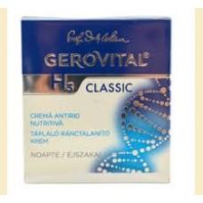 Gerovital H 3 Classic -crema antirid nutritiva  noapte