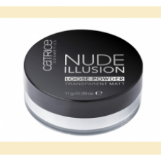 Catrice Nude Illusion - pudra pulbere matifianta