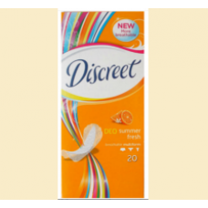 Discreet - deo summer fresh - tampoane zilnice