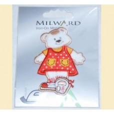 Emblema autocolanta ursulet - Milward