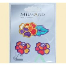 Emblema autocolanta flori - Milward