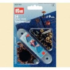 Set riveti (nasturi pt. blugi) + suport aplicare , 9 mm - Prym