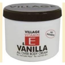 Village Vanilla - crema de corp cu vanilie si vitamina E