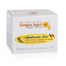 Apidermin Lux -crema de fata cu laptisor de matca